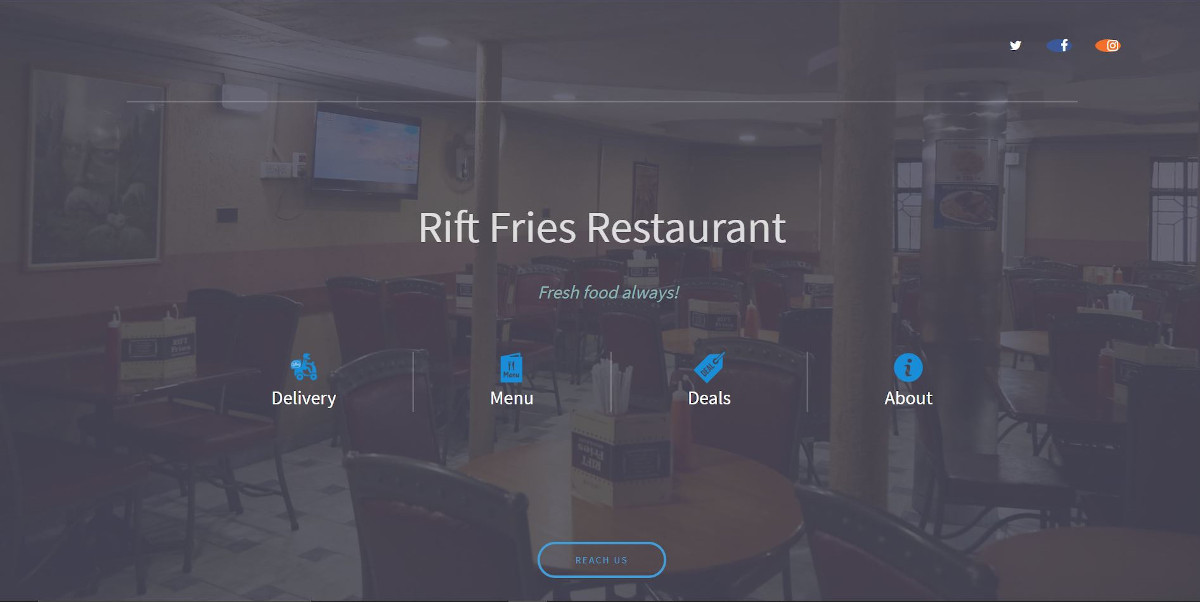 riftfries website image pc view