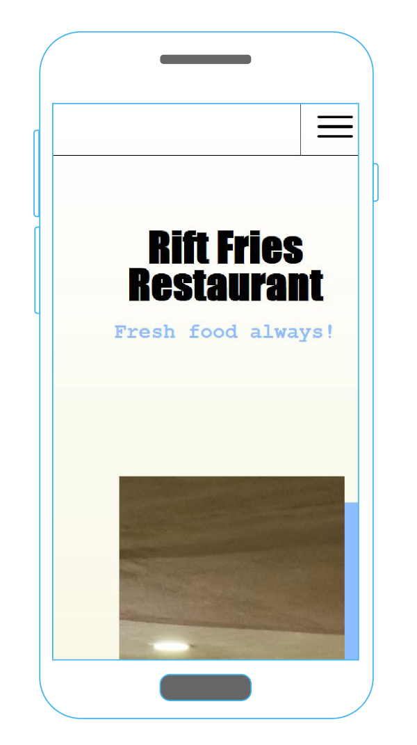 riftfries website image mobile view